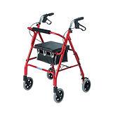 4 wheeled walker, rollator
