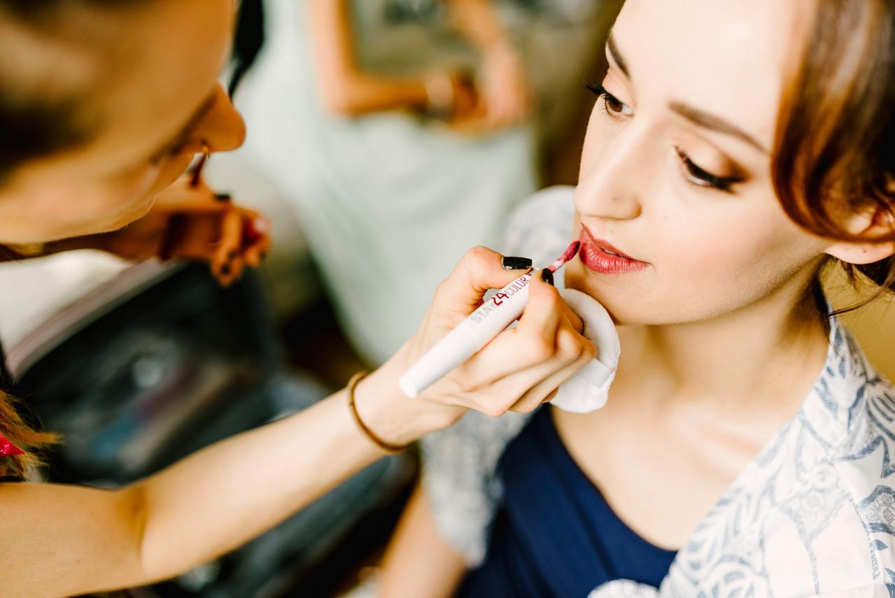 Hannah Kenney hair and makeup artist