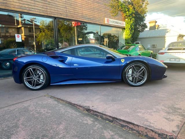 2018 Ferrari 488 GTB F142 Coupe 2dr DCT 7sp 3.9TT S/N 477