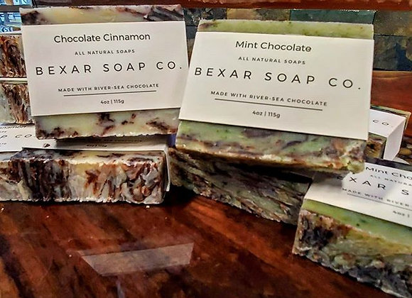 Bexar Chocolate Soap