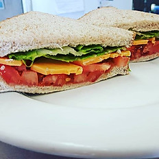Cheese, Tomato and Lettuce
