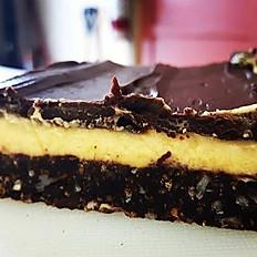 Millionaires/Nanaimo/Pecan/Cherry Cheesecake