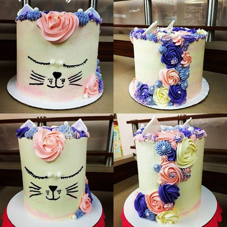 Kitty cake weekend! Two seperate parties