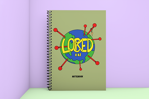 Locked In Notebook (Comb Paperback)