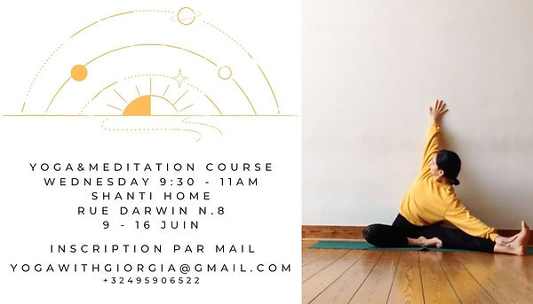 yoga&meditation all levels welcome www.y