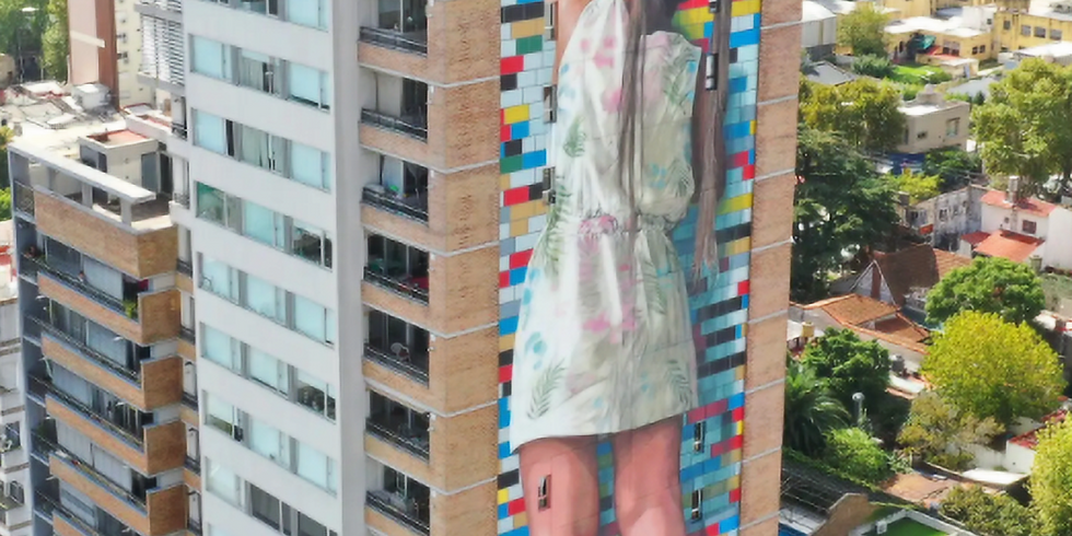 Generation Innovation Series: Discover Bueno Aires' Street Art with Flor