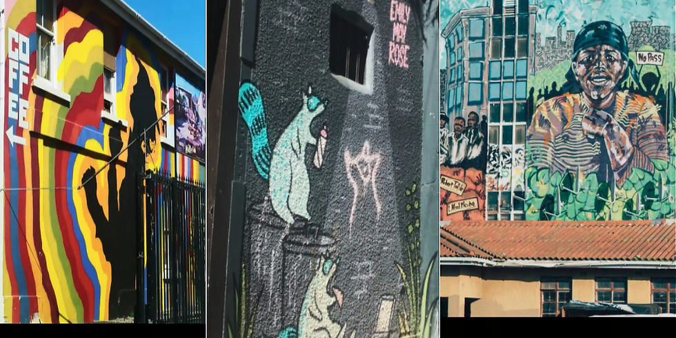 Generation Innovation Series:  Cape Town Culture & Street Art