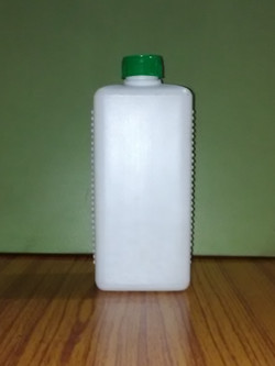 Ribbed Rectangular Bottle