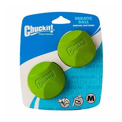 Chuckit Erratic balls (pack of 2)