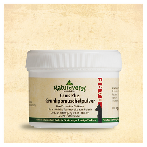 Naturavetal - Canis Extra - Green Lipped Mussel Powder - 70g