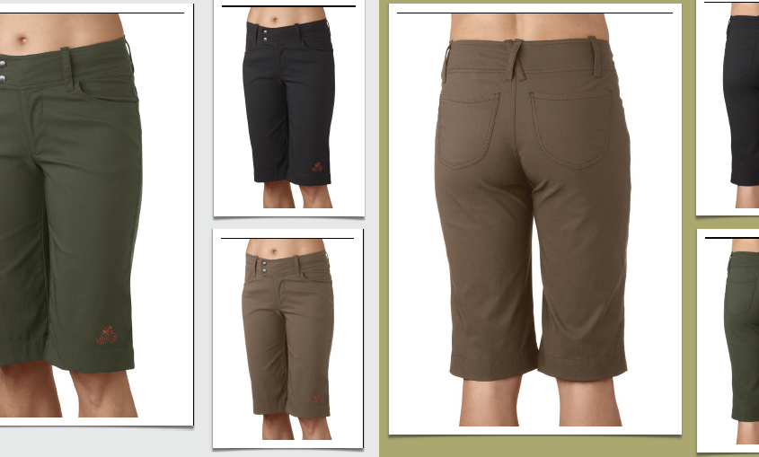 Bermuda Style MTB Shorts