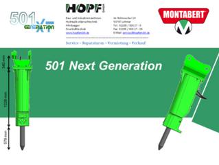 Montabert 501 Next Generation