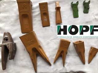 Hopf GmbH – Ab sofort auch mit Verschleißteilservice