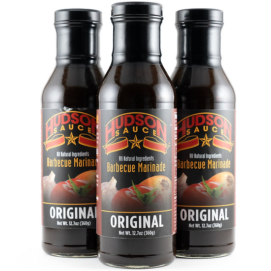 6 Bottles of Original Sauce