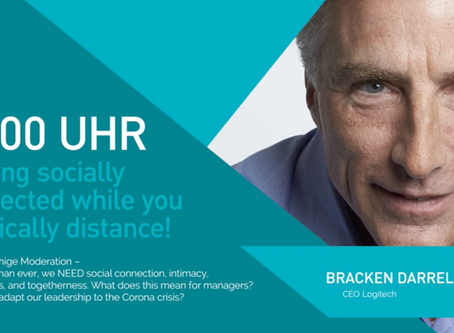 My Zoom Chat with Bracken Darrell, CEO of Logitech