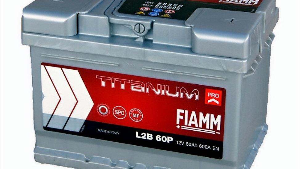 075 Titanium plus Fiamm Battery