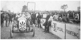 Frontenacs at 1920 Indy 500