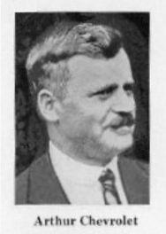 Arthur Chevrolet - Fine Portrait