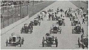Frontenacs at Indy 1919