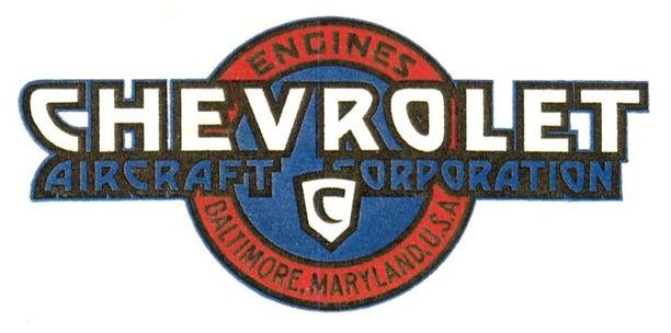 1930 Chevrolet Aircraft Logo