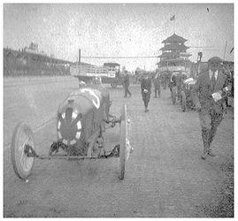 Louis Chevrolet  - 1920 Monroe sponsored Frontenac