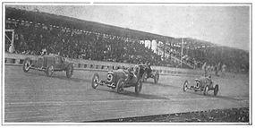 Frontenac racing at Fresno