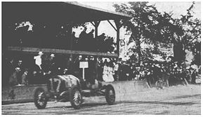 Louis Chevrolet wins time trial at Lowell
