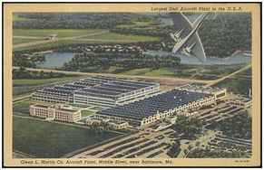 Glenn L. Martin Factory - Circa 1930's