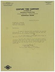 Karl Kizer Letter