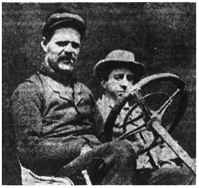 1905 Portrait of Louis Chevrolet