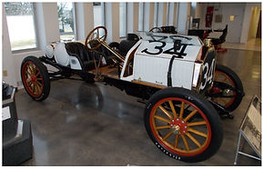 No 34 Buick Racer of Louis Chevrolet