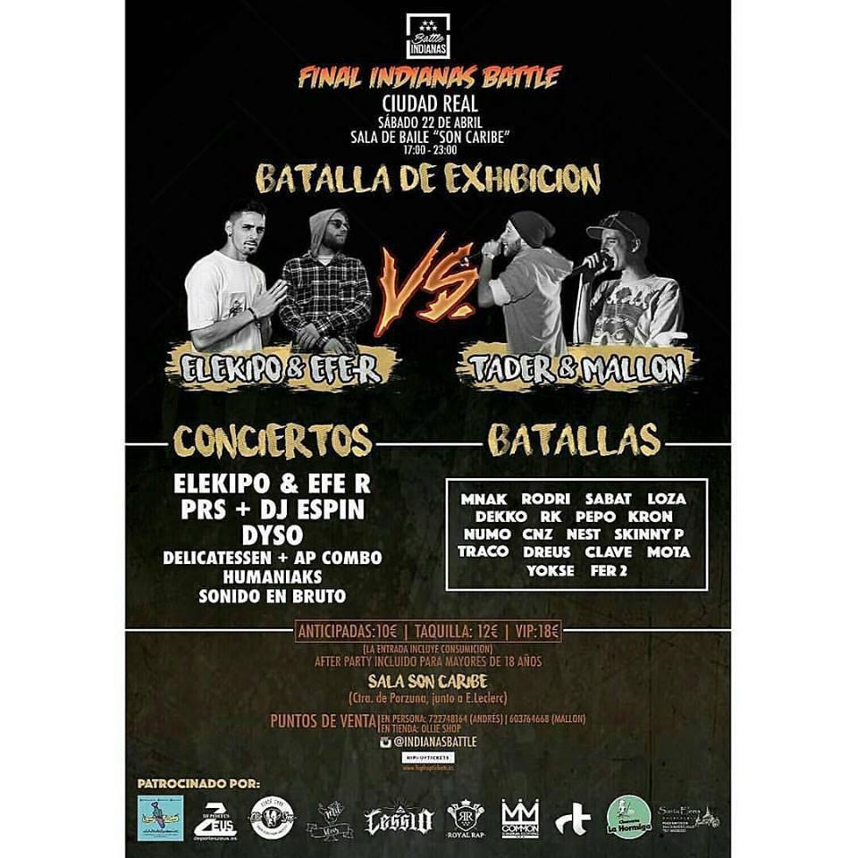 rap, hip hop, batalla, ciudad real, dj, patrocinado, hospederia,