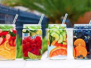 10 Recetas de agua detox