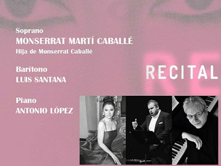 Recital de Ópera y Zarzuela de la soprano Montserrat Martí Caballé (Hija de Montserrat Caballé)