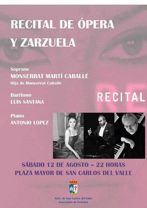 recital ópera y zarzuela de la soprano montserrat martí caballe (hija de Montserrat caballé)