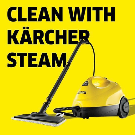 Clean With Karcher Steam Social Media Image