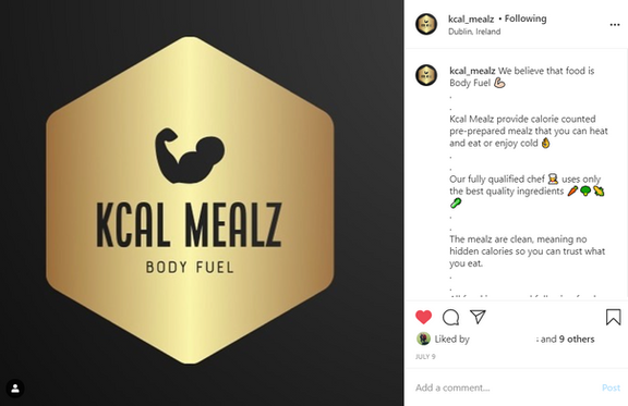 Kcal Mealz Post