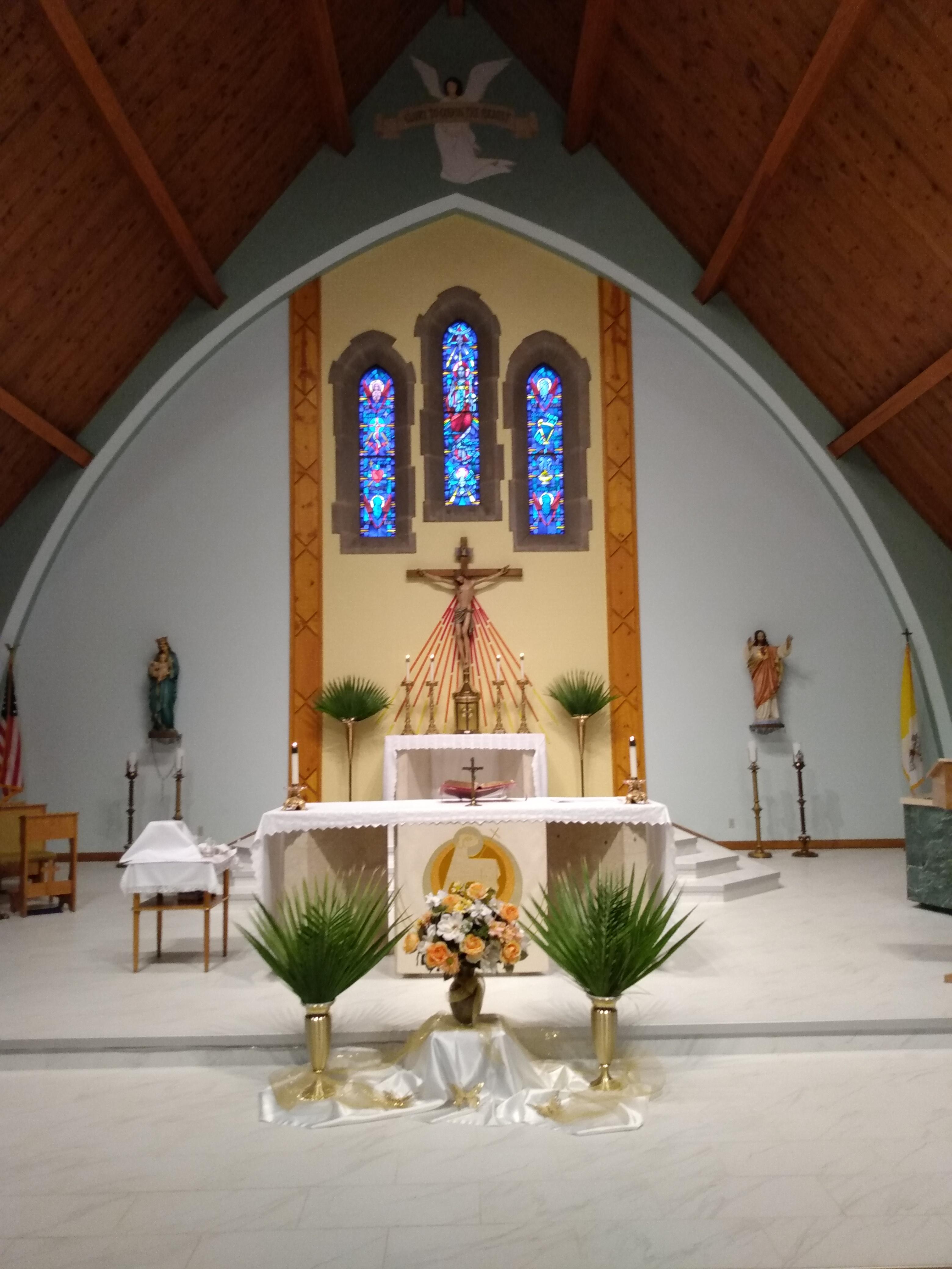 Holy Thursday St. Cecilia1