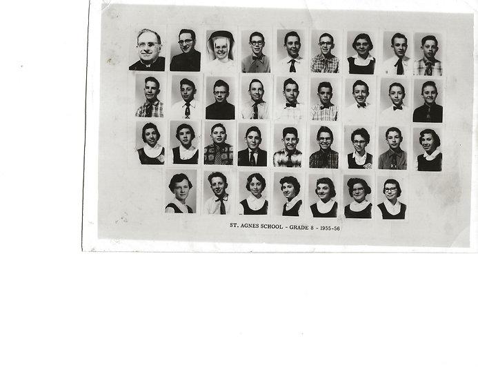 St Agnes School Grade 8 1955-56.jpg