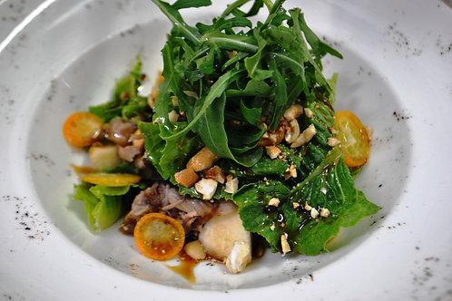 Салат з качкою-конфі