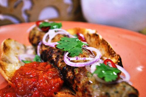 Люля-кебаб з індички