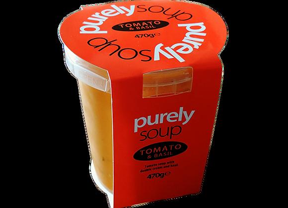 Tomato & Basil Soup 470g