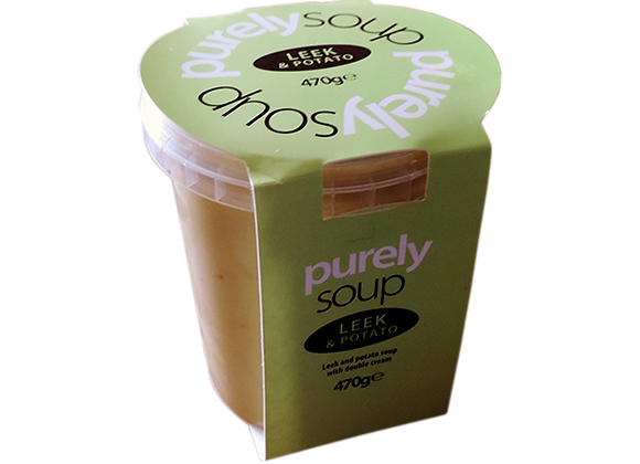 Leek & Potato Soup 470g