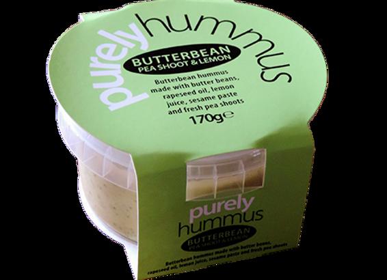Butterbean, Peashoot & Lemon Hummus 170g