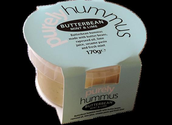 Butterbean, Mint & Lime Hummus 170g