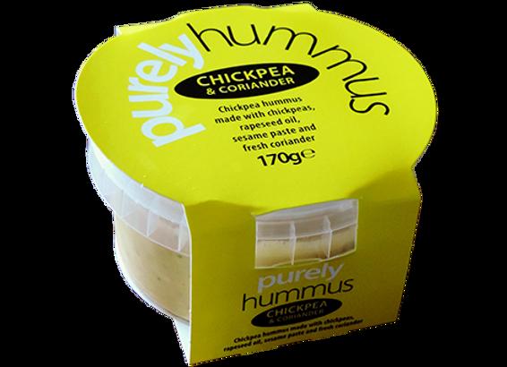 Chickpea & Coriander Hummus 170g