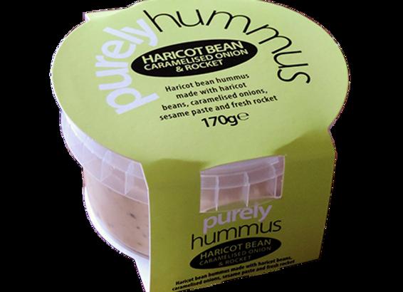 Haricot Bean, Caramelised Onion & Rocket Hummus 170g