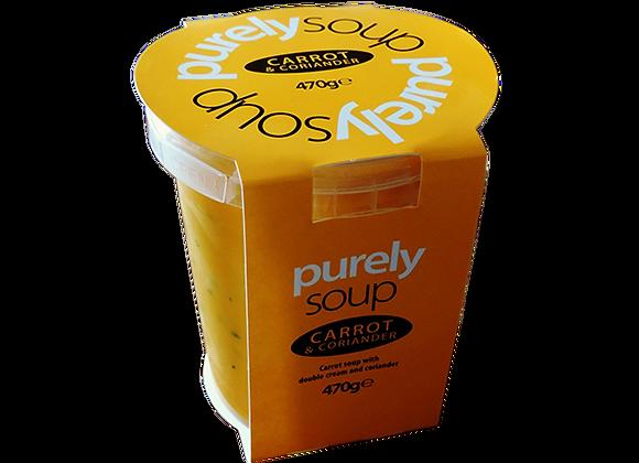 Carrot & Coriander Soup 470g