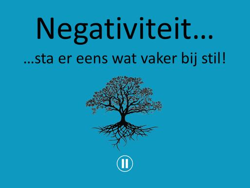 Verwonderwaardigen #23 - Negativiteit