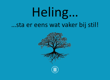 Verwonderwaardigen #35 - Heling